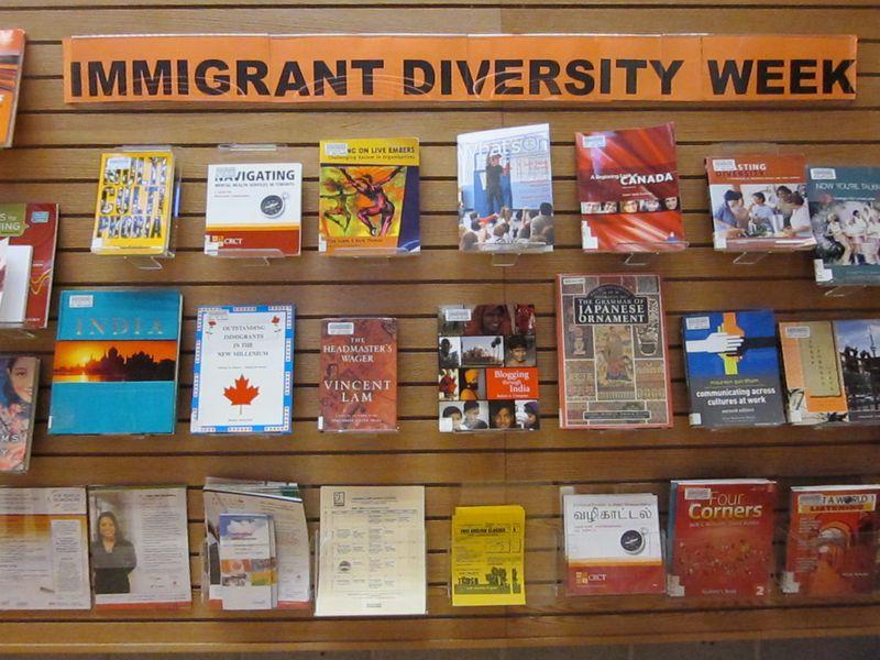 ACD Immigrant Diversity Week Display