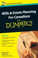 Estateplanning for dummies