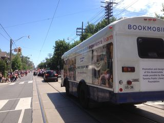 Toronto Public Library Book Mobile