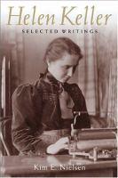 Helen Keller selected writings