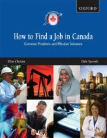 How to Find a Job in Canada _ Efim Sheinis