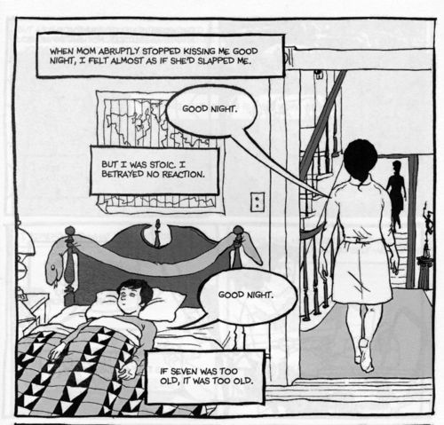 Are You My Mother by Alison Bechdel panel