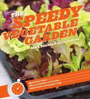 The Speedy Vegetable Garden by Mark Diacono