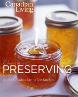 Canadian Living Complete Preserving Book