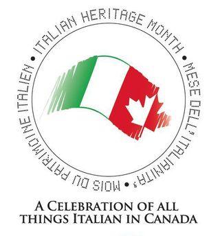 Italian Heritage Month Logo