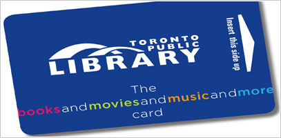 Toronto Public Library Card