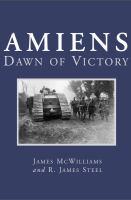 Amiens dawn of victory