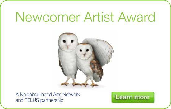 TELUS Newcomer Artist Award