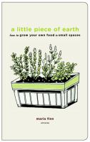 A Little Piece of Earth by Maria Finn Dominguez