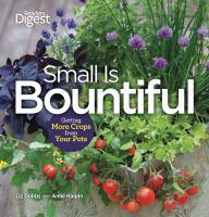 Small is Bountiful by Liz Dobbs