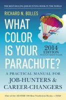 What color is your parachute guide to online job hunting