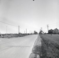 Wilson Ave. looking east from Keele St., 1955