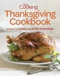 Fine Cooking Thanksgiving cookbook