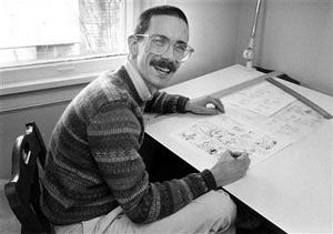 Link to Brain Pickings's website in tribute to Bill Watterson