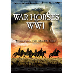 War Horses of WWI DVD on tpl