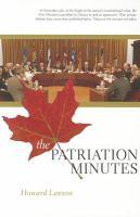 The patriation minutes