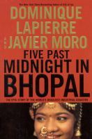 Five minutes past midnight in Bhopal