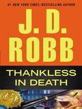 Thanksless in Death by J.D. Robb