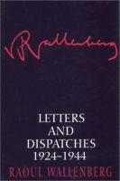 Letters and dispatches 1924-1944 1st ed