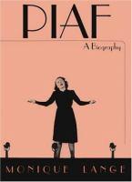 Piaf a biography