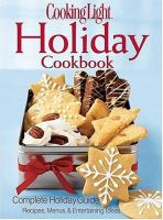 Cooking light holiday cookbook