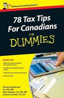 78 tax tips for Canadians for dummies