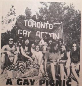 Toronto Gay Picnic 1972