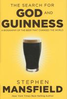 The Search for God and Guinness by Stephen Masfield