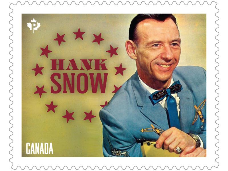 Hank Snow commemorative stamp