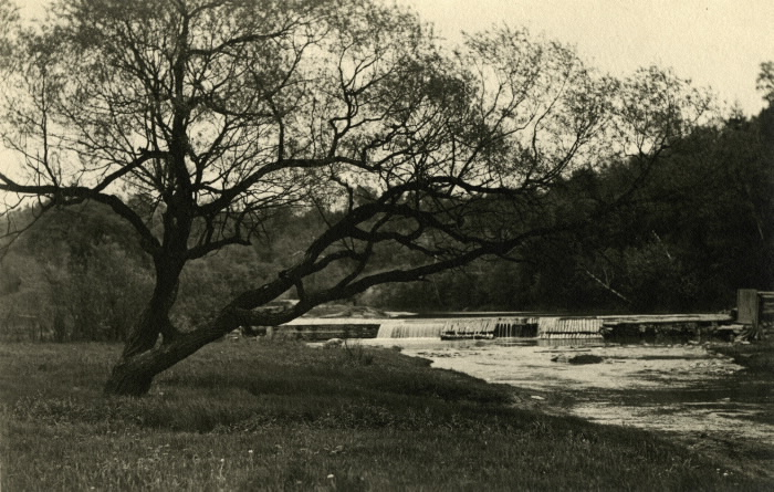 First Dam on the Don River 1900
