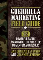 Guerrilla Marketing Field Guide
