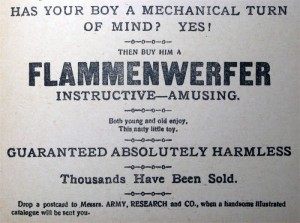 Flammenwerfer wipers times