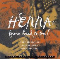 Henna from Head to Toe