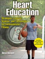 Heart education strategies, lessons, science, and technology for cardiovascular fitness