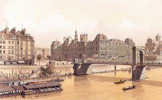 Hôtel de Ville, Paris, 1842
