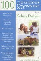 100 questions and answers about kidney dialysis
