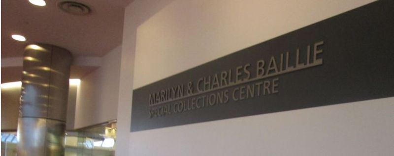 Marilyn & Charles Baillie Special Collections Centre