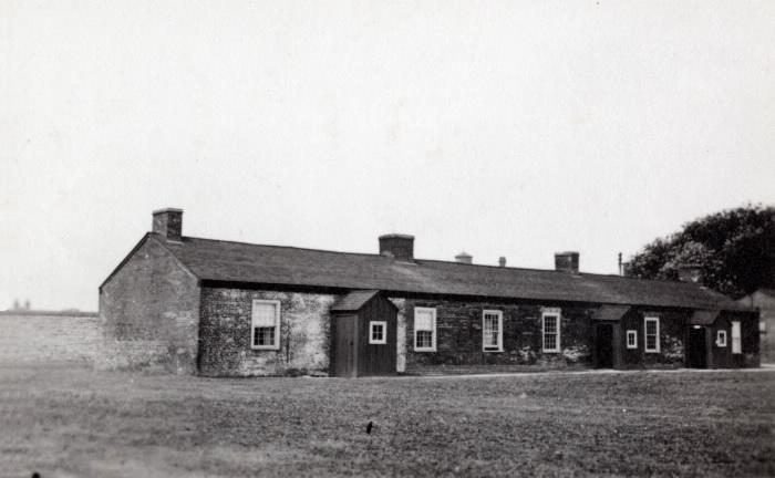 Fort York barracks looking w