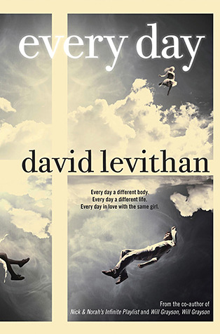 Book cover every day by david levithan