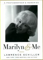 Marilyn & me a photographer's memories