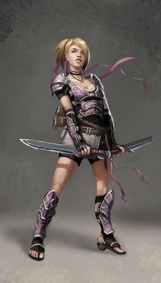 Warrior_girl by bugball on DeviantArt