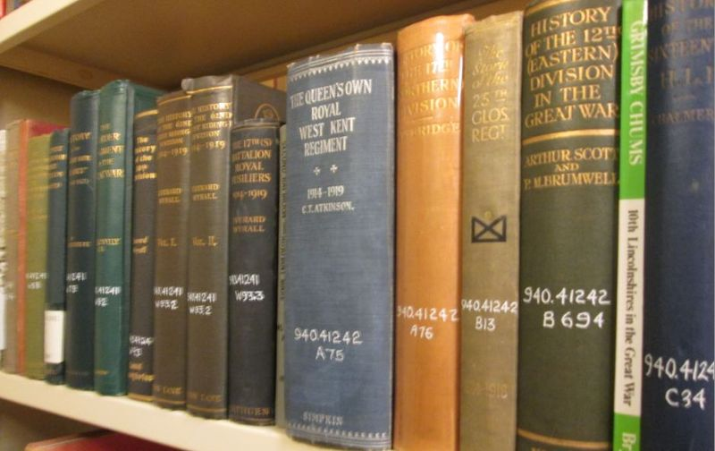 The Great War in the Stacks of TRL