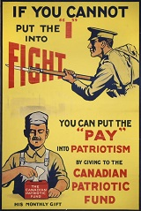 Canadian Patriotic Fund Poster