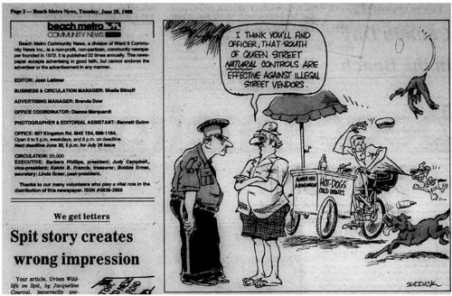 Beach Metro Community News, 1988