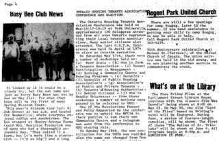 Regent Park Community News, 1975