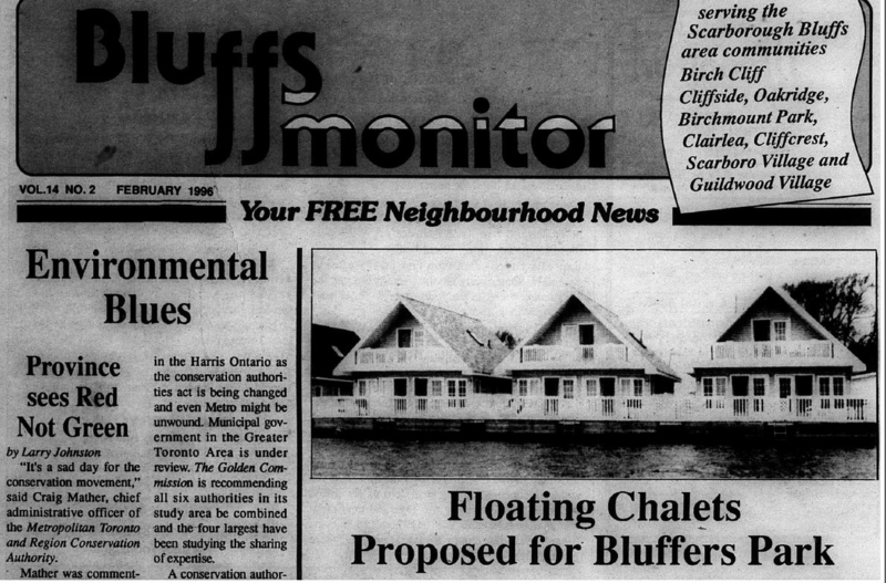 Bluffs Monitor, 1996