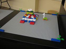 Lego Giraffe Bridge