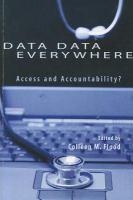 Data data everywhere access and accountability