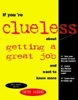 If You're Clueless About Getting A Good Job