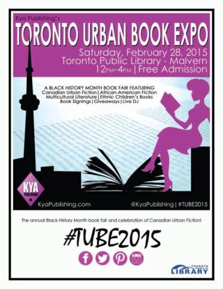 Toronto urban book expo poster